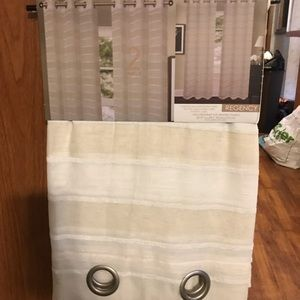 2 panel curtains. NWT
